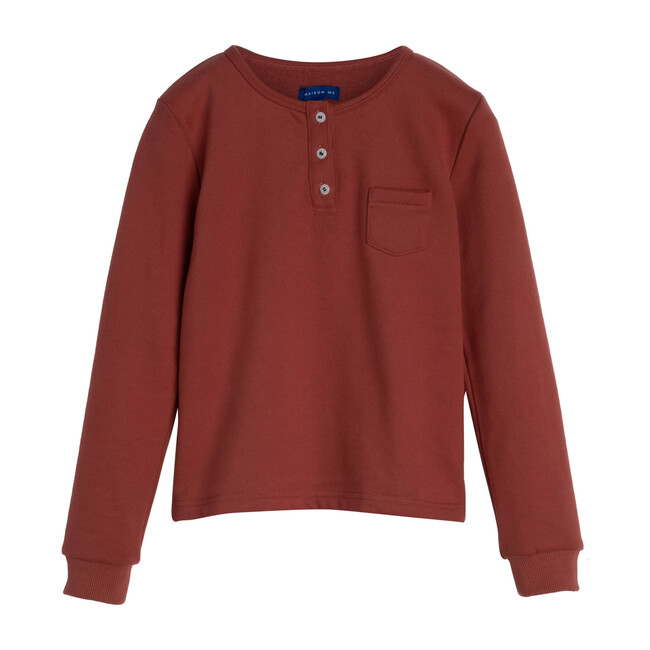 Rory Henley Shirt, Dusty Red