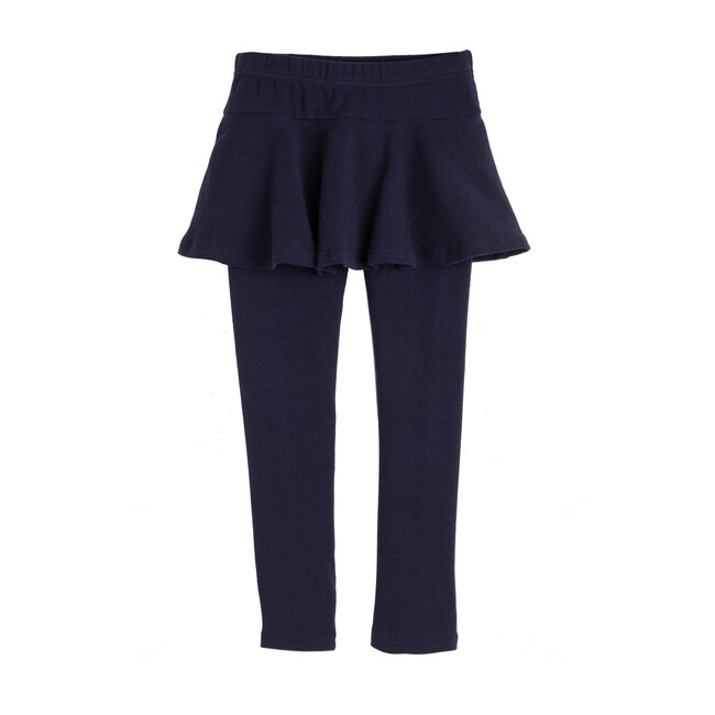 Luna Skirt Legging, Navy