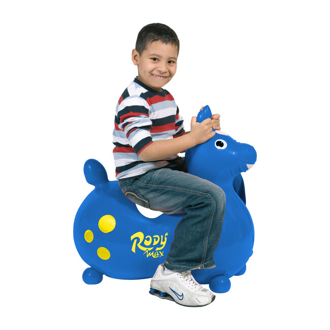 Rody Max with Pump, Blue