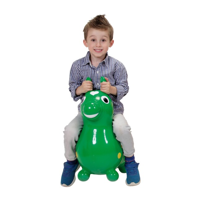 Rody Horse with Pump, Green