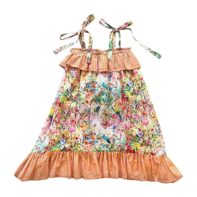 Tie Shoulder Dress, Secret Garden