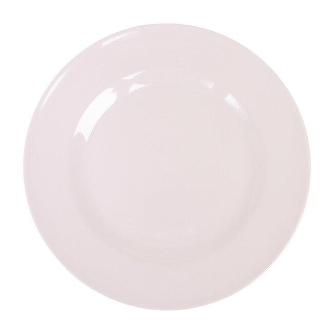 Melamine Round Side Plate, White