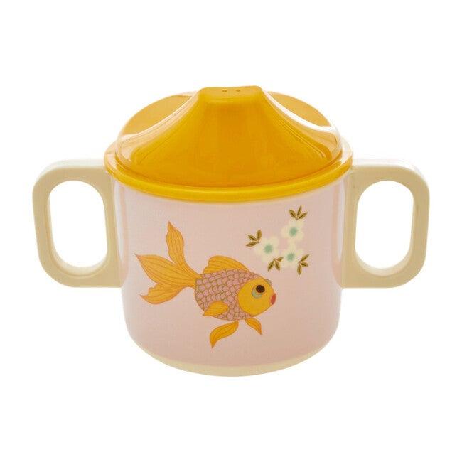 Melamine 2 Handle Baby Cup, Goldfish