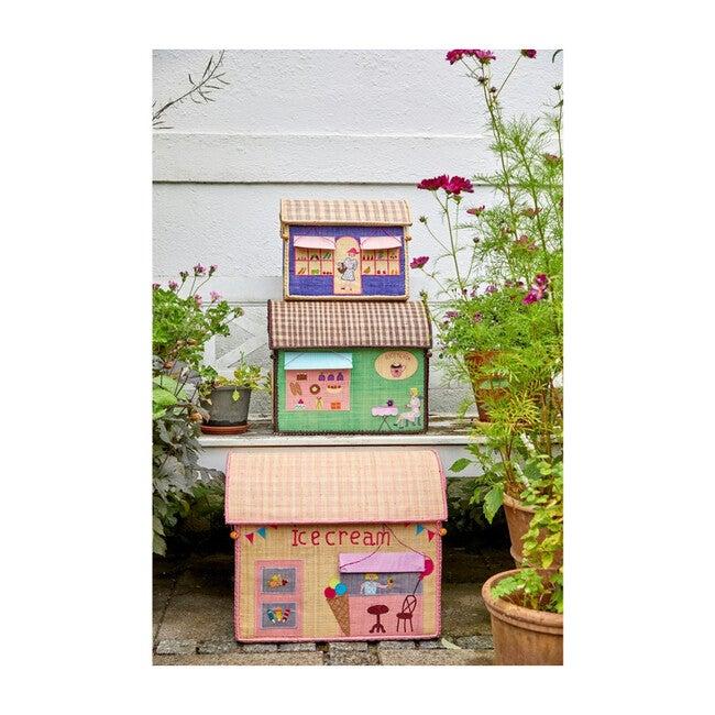 Set of 3 Raffia Storage Baskets, Shop