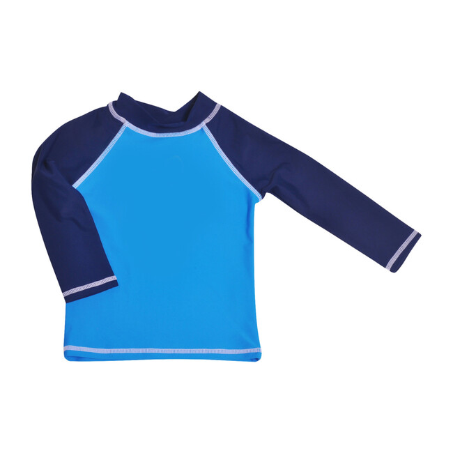 UPF 50 Rash Guard Swim Top, Surfside