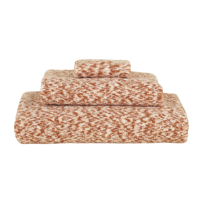 Space Dye Terry Hand Towel, Blush - Towels - 1