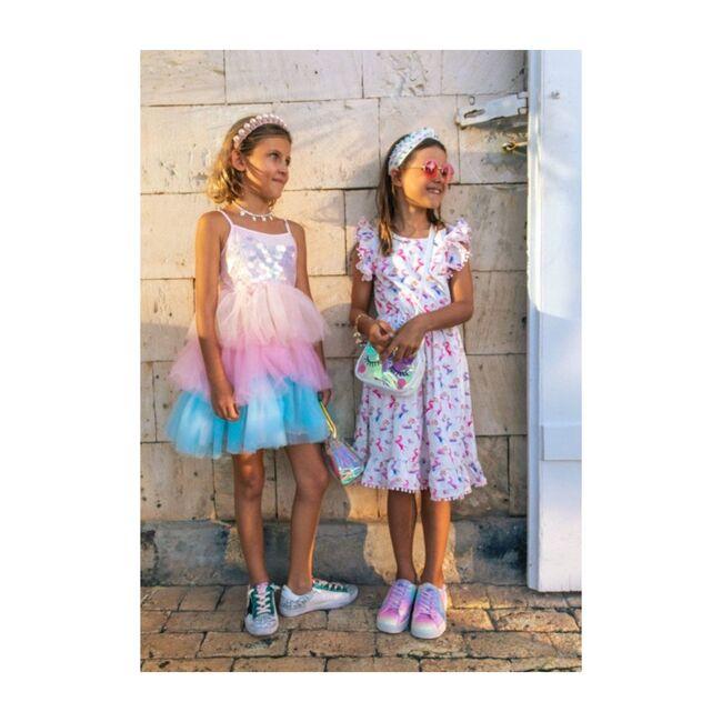 Unicorn & Rainbows Dress, Rainbow