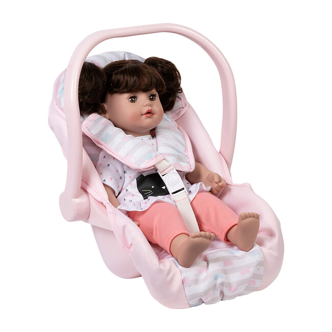 Classic Pastel Pink Car Seat Carrier