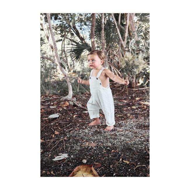 Lucas Overall, Linen White