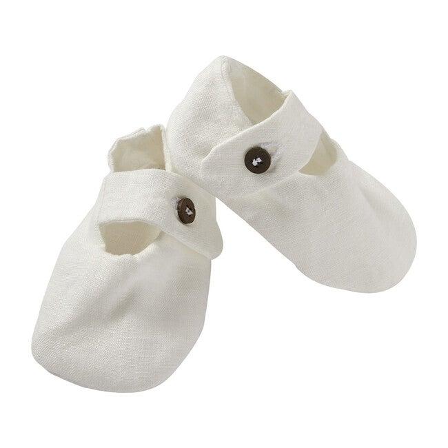 Pepo Shoes, Linen White