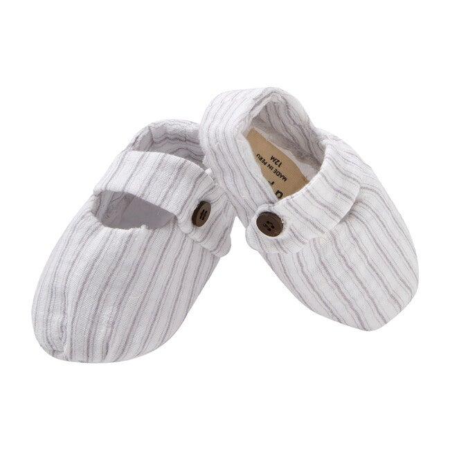 Pepo Shoes, Gauze Blue Stripes