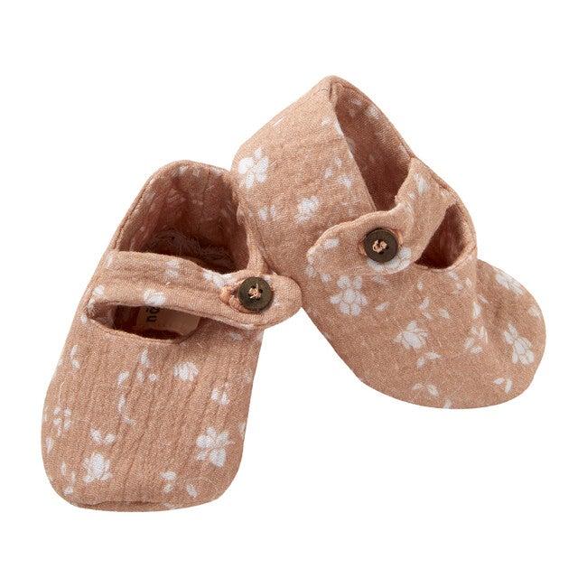 Pepo Shoes, Gauze Peach Flowers