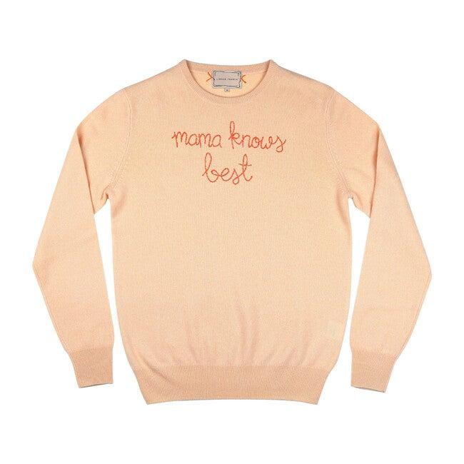 Women's Mama Knows Best Sweater, Peach