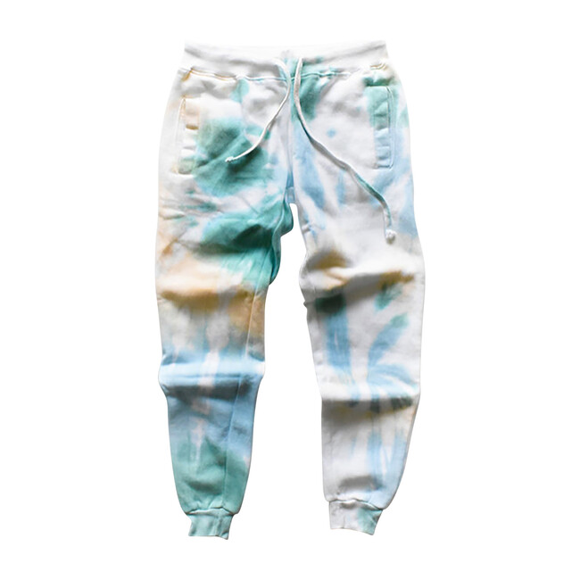 Adult Joggers, Sea & Ivory - Sweatpants - 1
