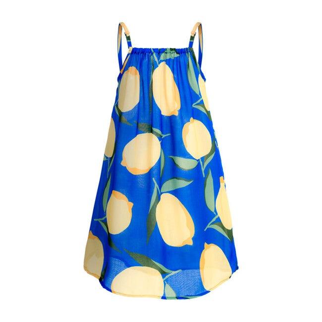 Oli Cover Up Dress, Blue Sorrento