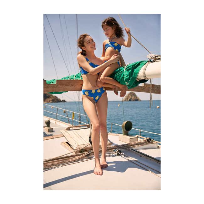 Women's Isabella Bikini Top, Blue Sorrento