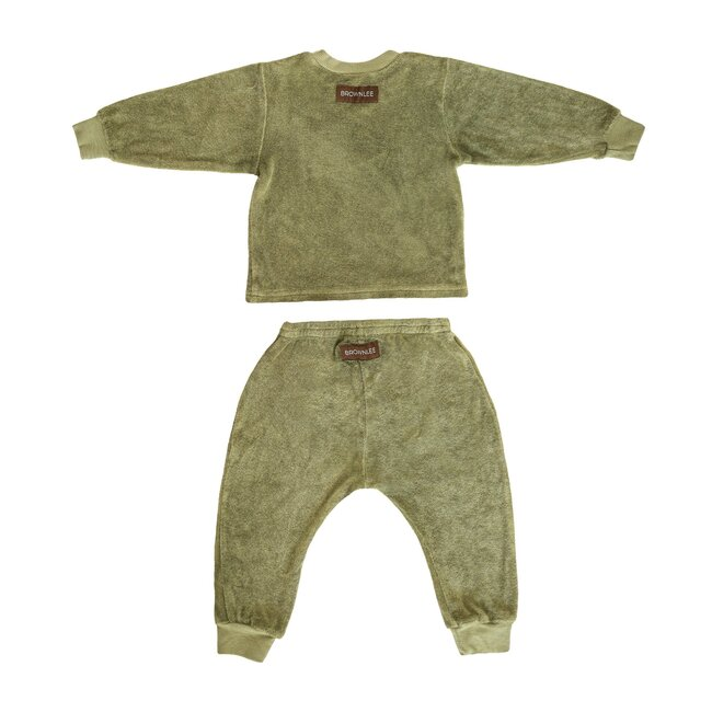 The Terry Baby Set, Sage