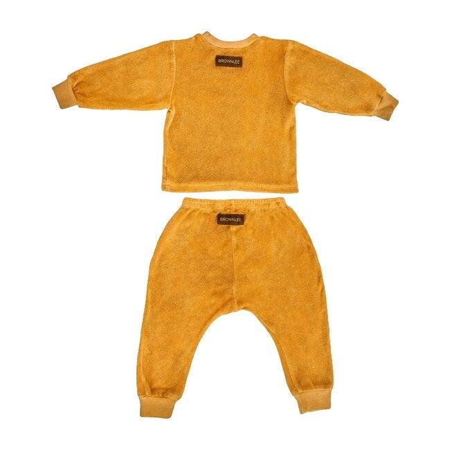 The Terry Baby Set, Tangerine
