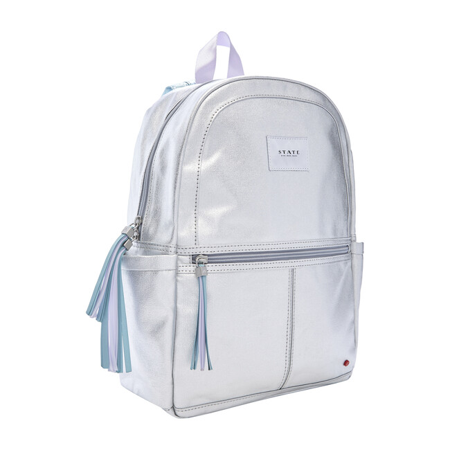 Kane Kids Backpack, Silver Multi