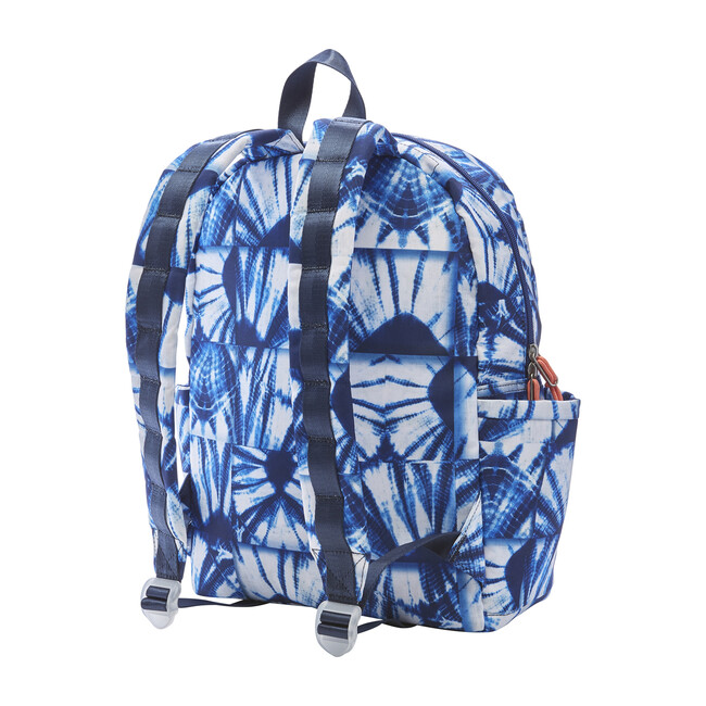Kane Kids Backpack, Indigo Patchwork
