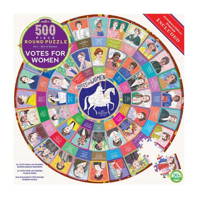 Votes for Women 500-Piece Puzzle - Puzzles - 1