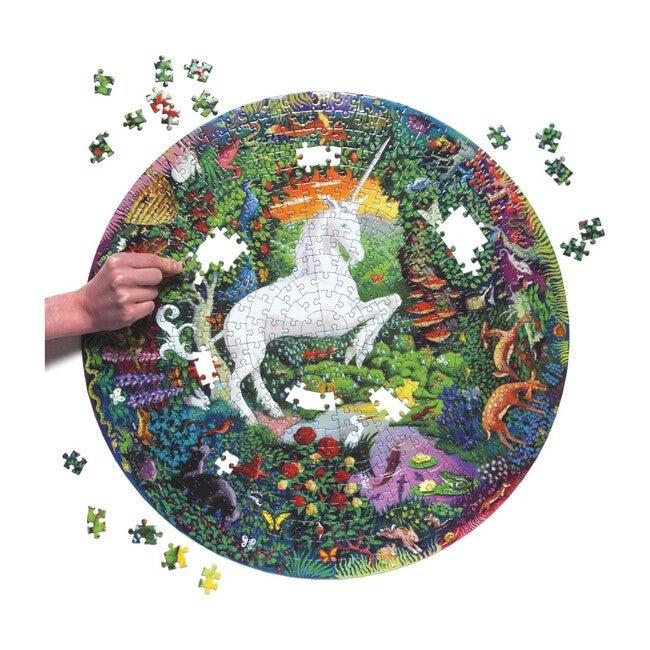Unicorn 500-Piece Round Puzzle