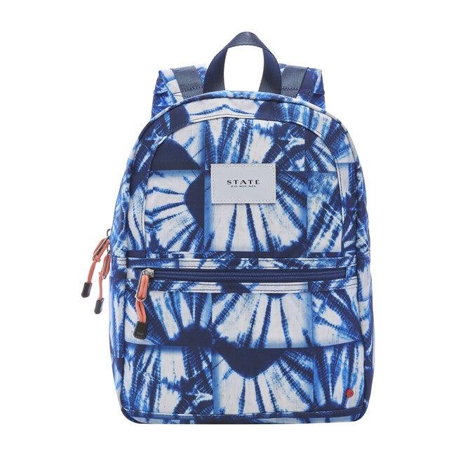 Mini Kane Backpack, Indigo Patchwork