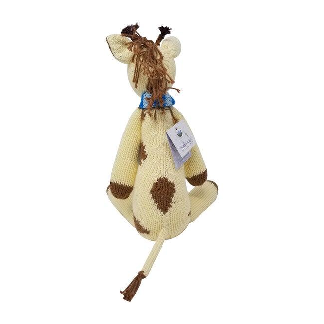 Georgie Giraffe with Scarf, Yellow