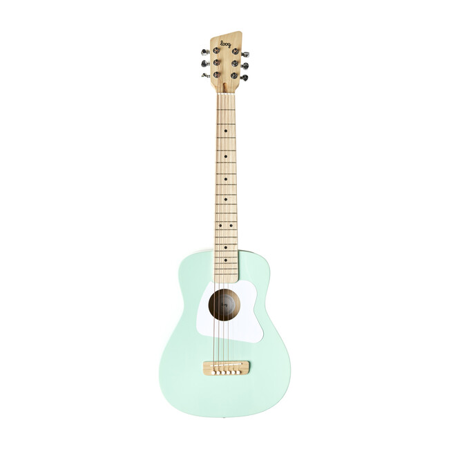 Green Pro 6-String Acoustic Guitar
