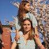 Heidi Tiered Dress, Blue Brushstroke Flowers - Dresses - 5