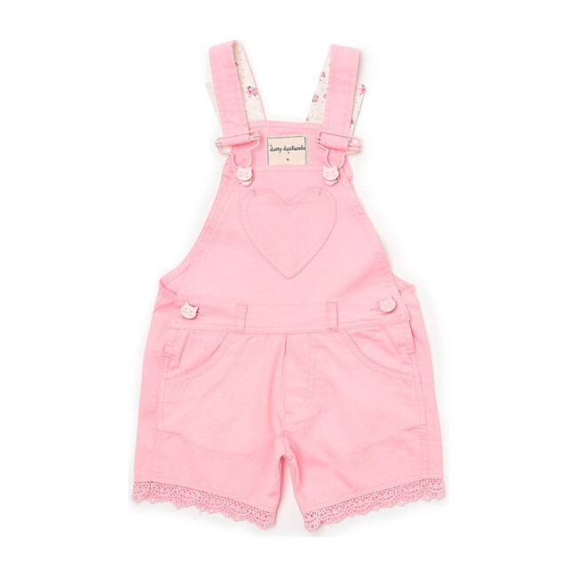 x Nicky Hilton Short Overalls, Pink