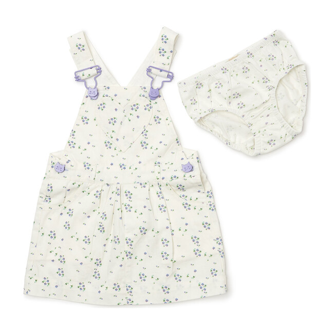 x Nicky Hilton Ditsy Summer Overall Dress, Floral