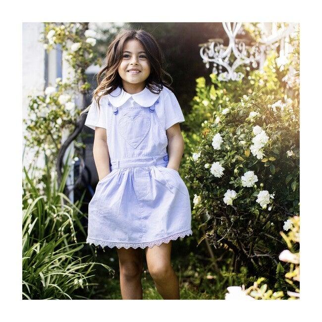 x Nicky Hilton Summer Overall Dress, Lilac
