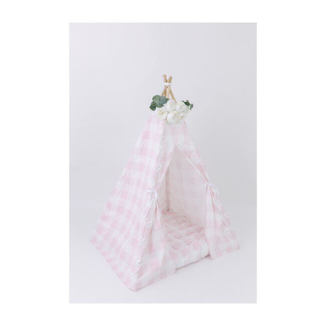Cecile Play Tent, Pink Gingham