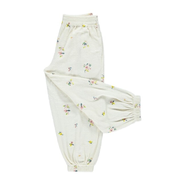 Bea Pants Natural Flowers