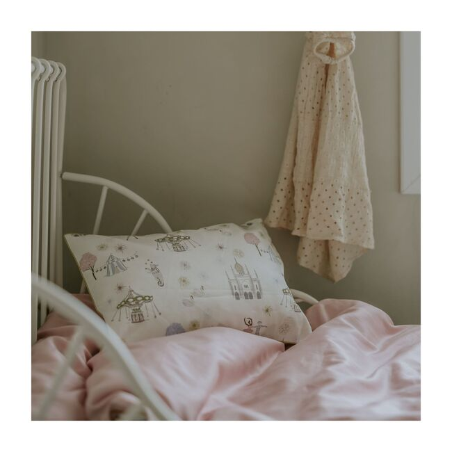 Adventures in Wonderland Toddler Pillow, Rose Multi