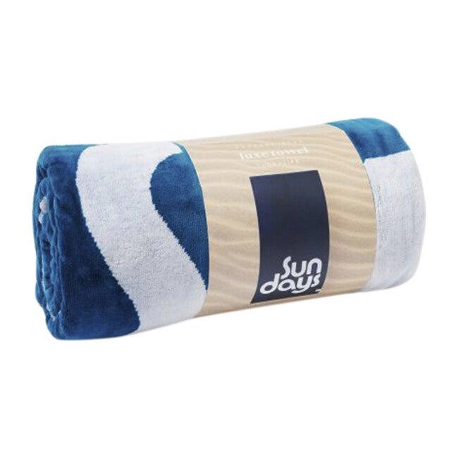 Luxe Towel, Indigo