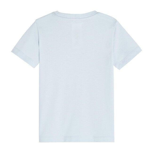 Boat Pattern T-Shirt, Azure