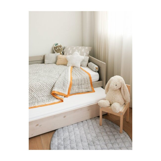 Block-Printed Cotton Quilt, Erawan