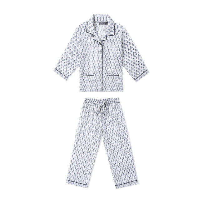 Block-Printed Loungewear Gift Set, Fort