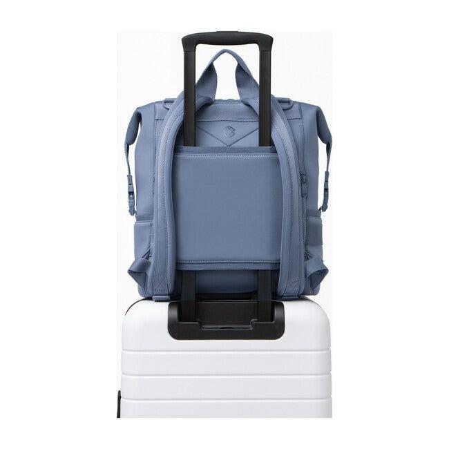 Indi Diaper Backpack Large, Ash Blue