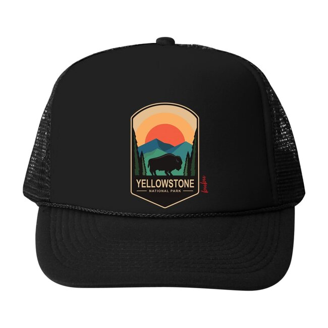 Yellowstone Hat, Black