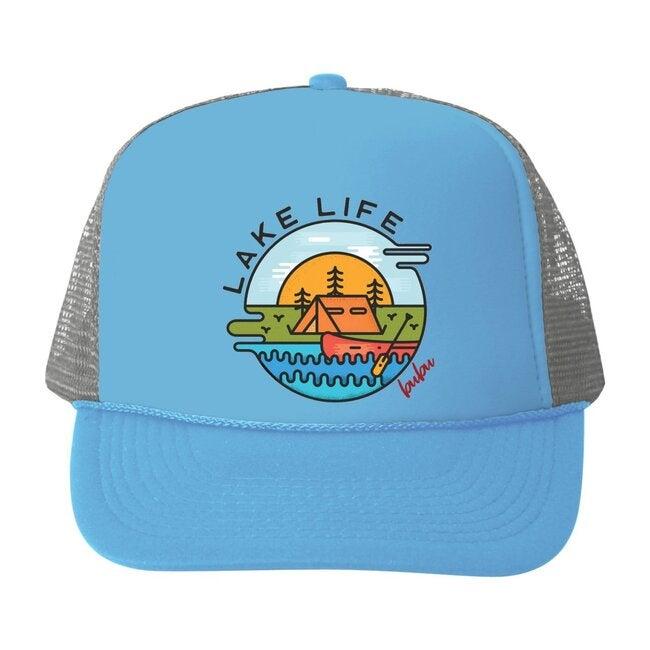 Lake Life Hat, Blue