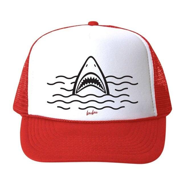 Shark Hat, Red