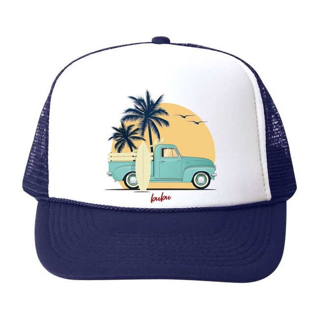 Beach Truck Hat, Navy