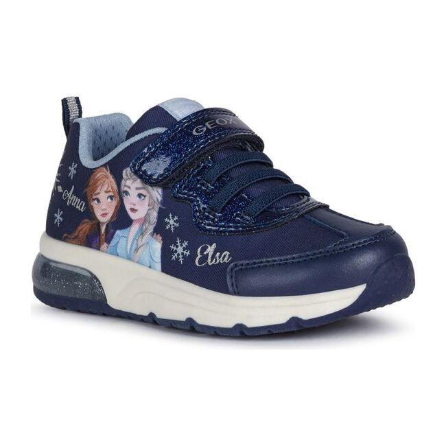 Frozen Graphic Sneakers, Navy