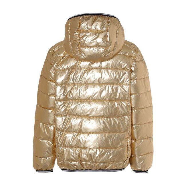 Puffer Jacket, Gold