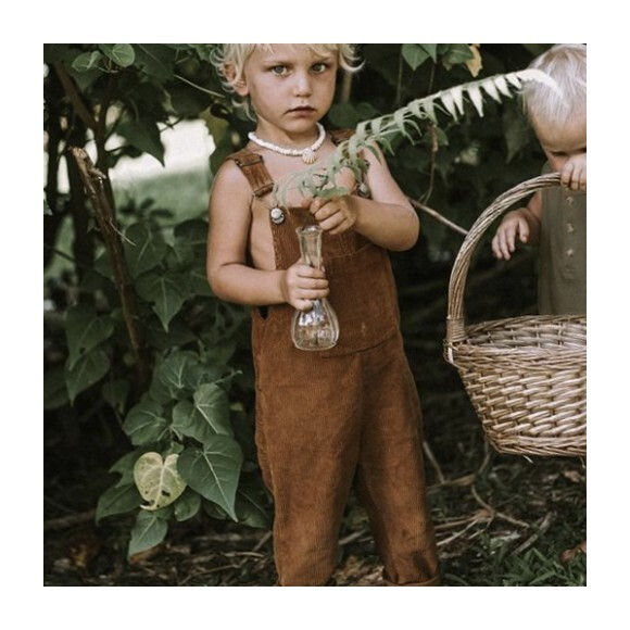 The Wild And Free Dungaree, Rust