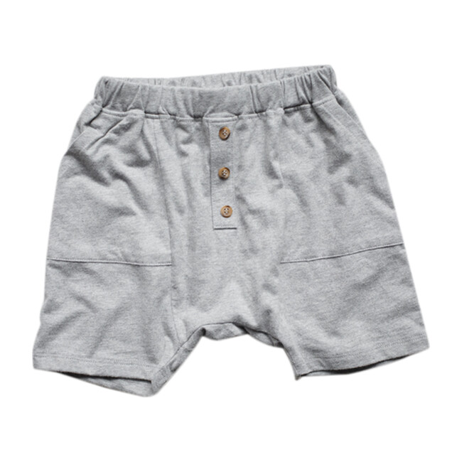 The Perfect Short, Gray Melange