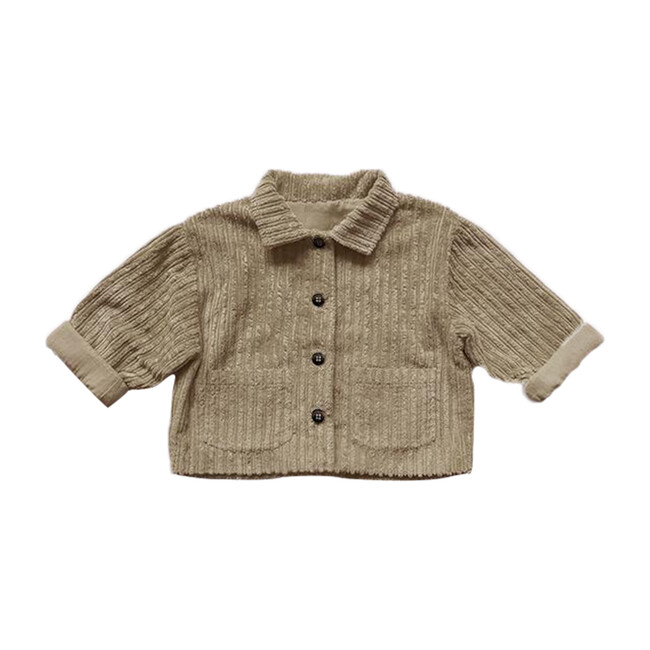 The Vintage Corduroy Utility Jacket, Sand